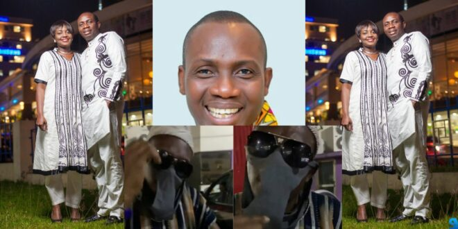 Counsellor Lutterodt spotted wearing his wife's pants as nose mask in a new video 1