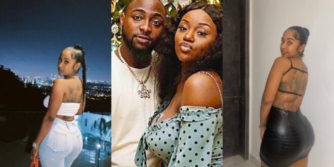 Pictures of the woman who has stolen Davido away from Chioma surfaces online (photos) 1