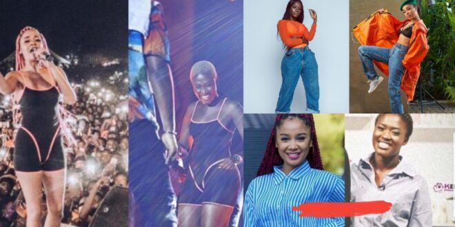 Sister Derby trolls 'Copy-Copy' Fella Makafui with her 'Sassy' Val's day dress 1