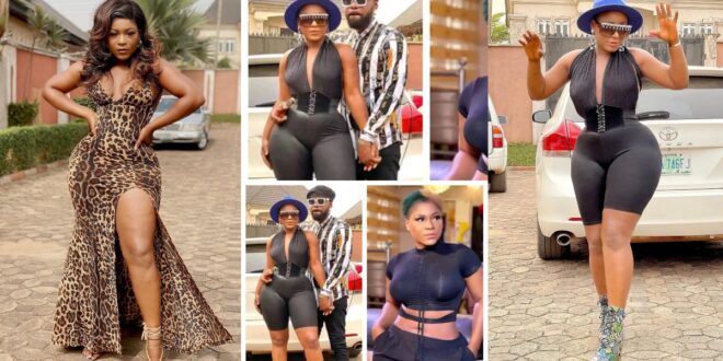 """""""Stop showing us your body, we are not impressed any more"""" fans bash actress Destiny Etiko on Facebook. 1"""