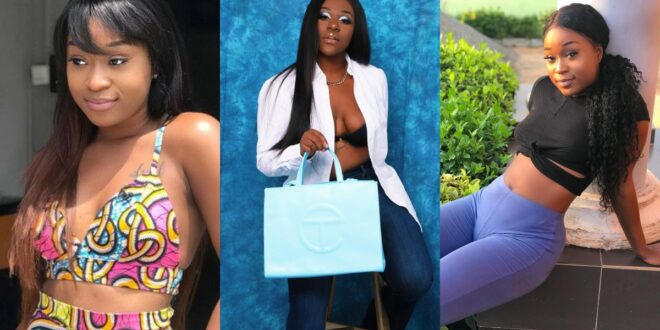 Efia Odo's sister releases hot and sassy photos of herself 1