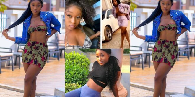 Give a girl money after chopping her - Efia Odo - Video 1
