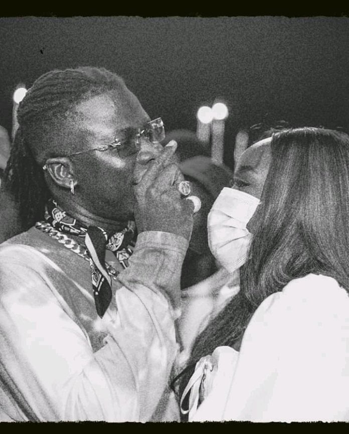 Stonebwoy releases beautiful unseen photos together with his wife on Val's Day 3