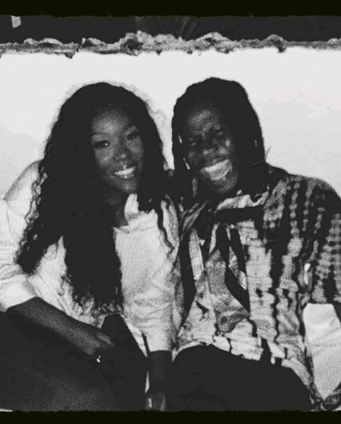 Stonebwoy releases beautiful unseen photos together with his wife on Val's Day 4