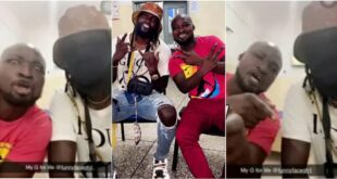 Watch the reaction of Funny Face when Adebayor visited him at the hospital - Video 14