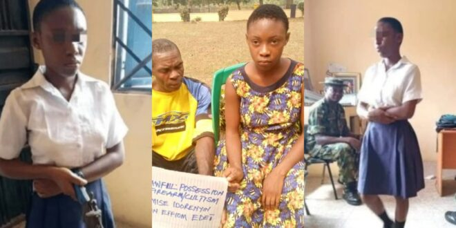 """I got the gun from my boyfriend who is married with 6 children""- SHS girl who went to school with a gun to shoot her teacher speaks. 1"