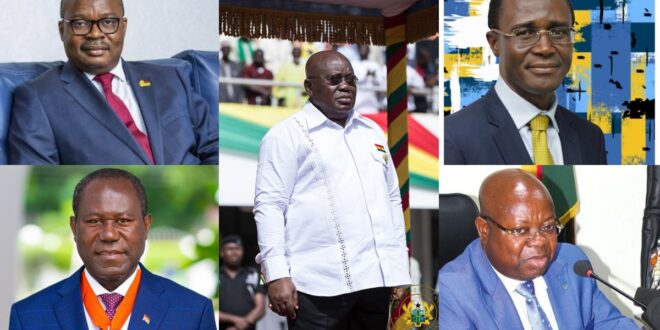 Top 5 Highest Paid Government appointees in Ghana & Their Salaries 2021 - Photos 1