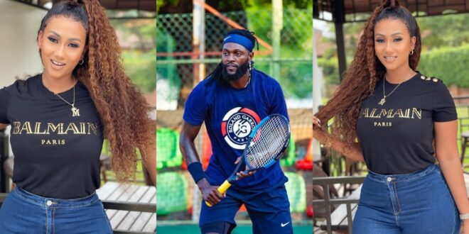 Hot Gist - Adebayor rumored to be chopping Hajia4real 1