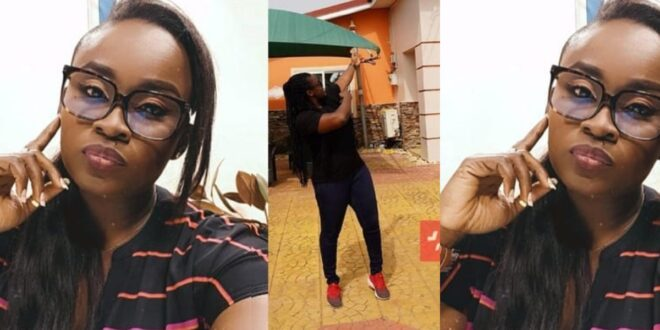 Video of Journalist Jessica Opare kicking her tenant out of her east legon house surfaces online (video) 1