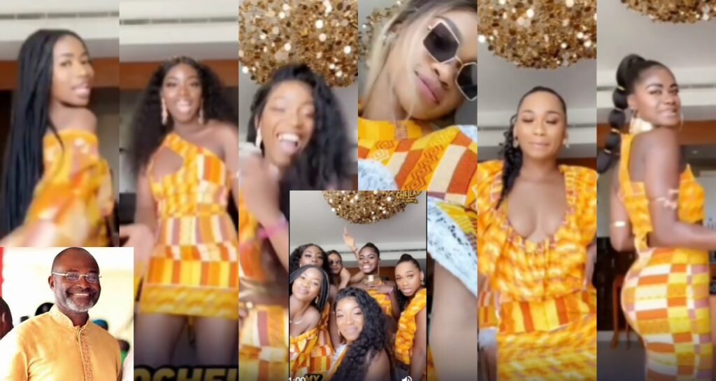 Kennedy Agyapong's 7 Daughters Heat Up The Internet With This Stunning video 2