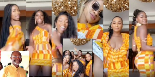 Kennedy Agyapong's 7 Daughters Heat Up The Internet With This Stunning video 1