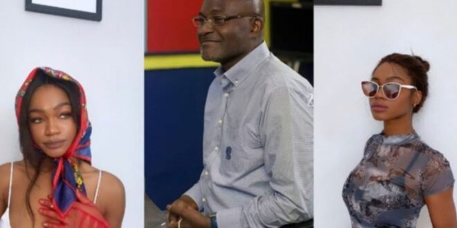 Kennedy Agyapong has triplets, the oldest of them called Tracey shares 10 facts about herself 1