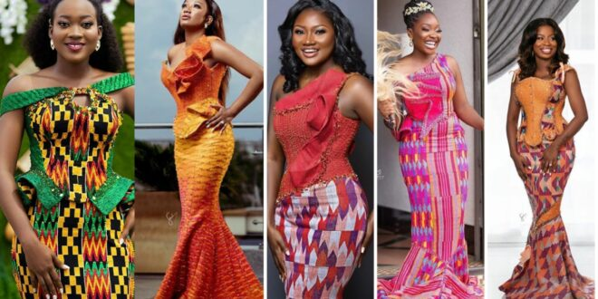 50 Attractive African-Inspired Kente Designs That Will Help You Glow At Regular Occasions. 1