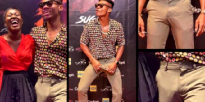 Kidi tells why his Pen!s stands stiff when he is close to women - Video 1