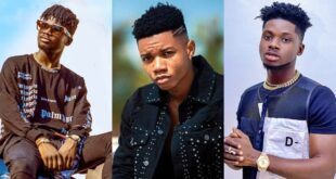 """Kuami Eugene doesn't know how to talk, speaks to me anyhow""- Kidi 2"