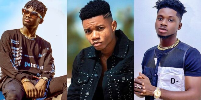 """""""Kuami Eugene doesn't know how to talk, speaks to me anyhow""""- Kidi 1"""