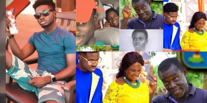"""""""I have high Blood Pressure Because Kuami Eugene is not accepting me as his father""""- Kuami Eugene's father cries on Kofi TV 1"""