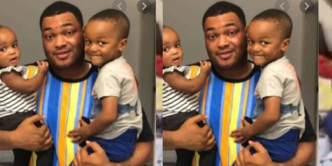 Kwadwo Safo Jnr Shares adorable 'Daddy Time' video With His Children - Watch 1