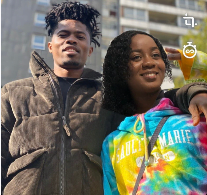 """Lady Obsessed with Kwesi Arthur Photoshops her images to his and captioned it """"LOML""""- (photos) 4"""