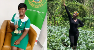 Meet Margaret Afriyie, Award wining Mid wife who is also a farmer (photo) 11