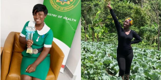 Meet Margaret Afriyie, Award wining Mid wife who is also a farmer (photo) 1