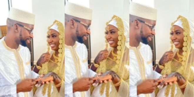 """""""I was Only Joking with him on Social media, but he married me""""- Lady recounts how she met her husband online 1"""
