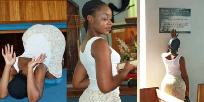 """I feel sexually attracted to my pastor, I feel wet when he is preaching""- Lady discloses 1"