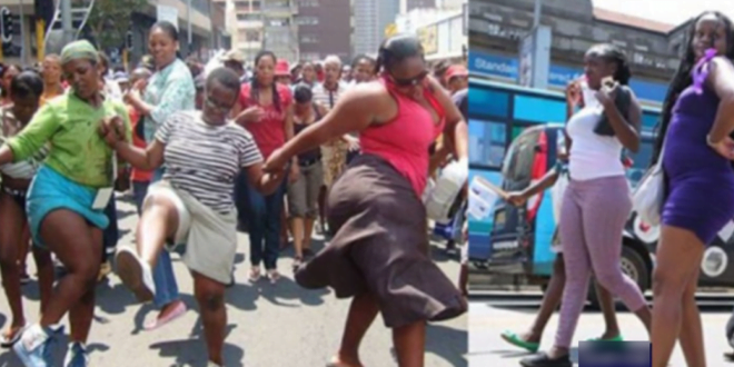Some Women takes to the streets to protest because men perfer g@yism to them 1