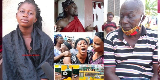 Sad video, Mother of the 5 year old girl k!lled by Lil win's school bus speaks on how her daughter d!ed 1