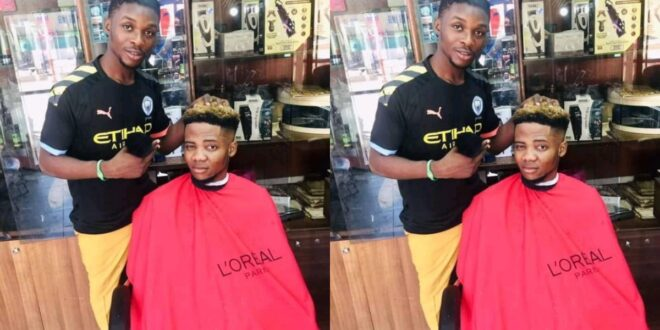 Barber arrested for giving secular haircuts to customers that 'insults' Islam - Photos 1