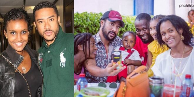 Pictures of Majid Michelle and his lovely family causes stri online. 1