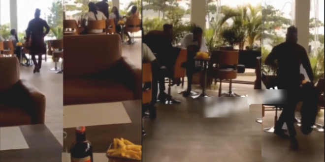 Man takes backBone Straight Hair, Phone & Slippers He's Purchased For Girlfriend After Catching Her On Date With Someone 1