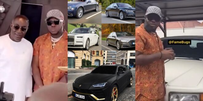 Medikal and others shocked by the number of cars Despite has after attending christening of kennedy's twins (video) 1