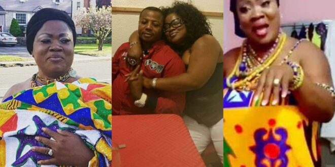 Mercy Asiedu Flaunts her husband who is a chief on Social media (photo) 1