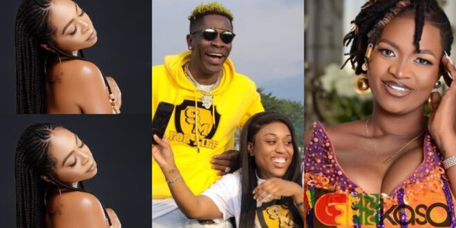 Its none of your business if I did threesome with Shatta Wale - Michy finally replies Ayisha Modi 1