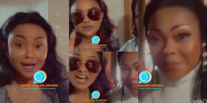 Video of Mona Gucci Humbled when she met Nana Ama Mcbrown goes viral after their beef (video) 1
