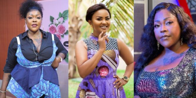 Mona Gucci gives Nana Ama Mcbrown and A Plus a deadline to apologize to her or face the worse (video) 1