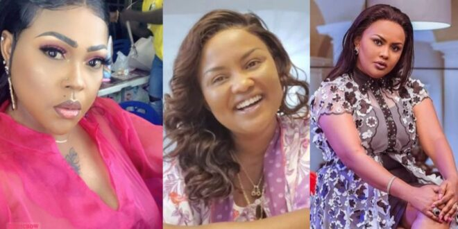 """""""Nana Ama Mcbrown is just a Concert Party Actresses""""- Mona Gucci Insults Mcbrown after Exposing her on UTV 1"""