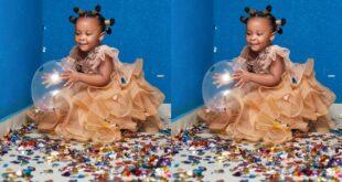Watch the lavish birthday party Nana Ama Mcbrown threw for Baby Maxin - Video 6
