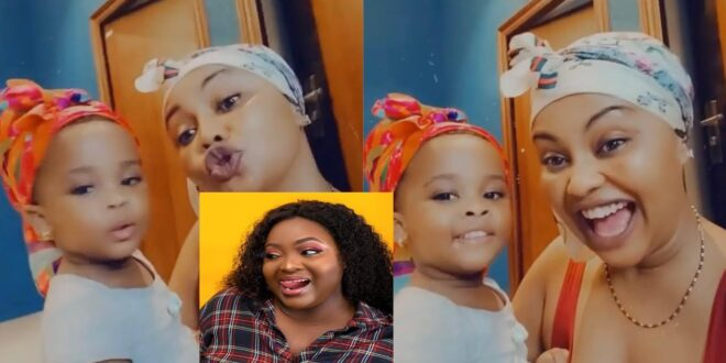 Nana Ama Mcbrown & her daughter Baby Maxin sing Roselyn Ngissah's special birthday song. (video) 1