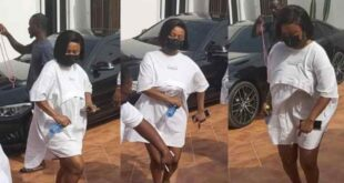 Watch the moment Nana Ama Mcbrown hit the dance floor at Baby Maxin's birthday party - Video 2