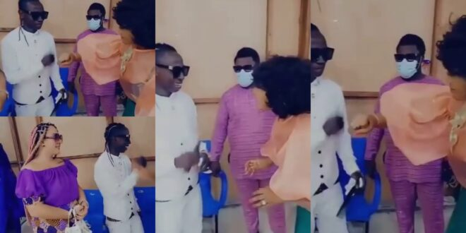 Nana Ama Mcbrown gives patapaa a blow after meeting him with his white wife (video) 1