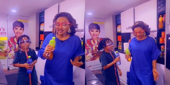 Don Little And Nana Ama McBrown thrills fans in a new video 1