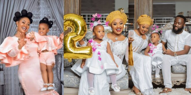 My Joy, My Testimony - Says Macbrown as she celebrates Baby Maxin's 2-year-old birthday - Photos 1
