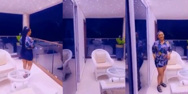 Nana Ama Mcbrown shows her Glass Mansion to her fans in new video 1