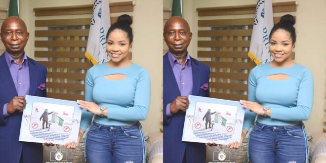 Fans beg Ned Nwoko not to add BBnaija Nengi to his wives after the two met (photos) 1