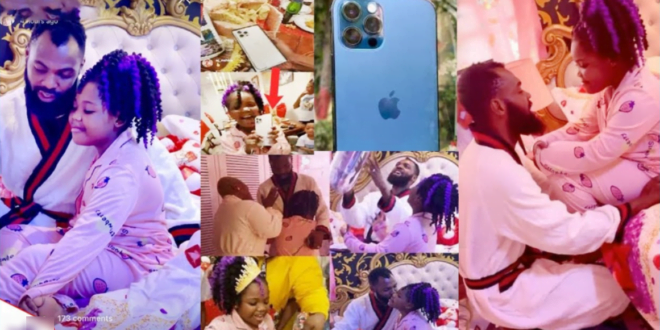 VIDEO: Obofuor gives iPhone 12to his daughter for her birthday gift 1
