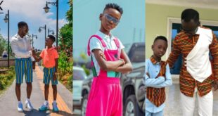 """God please let my son be wiser than me""- Okyeame kwame prays emotionally 16"