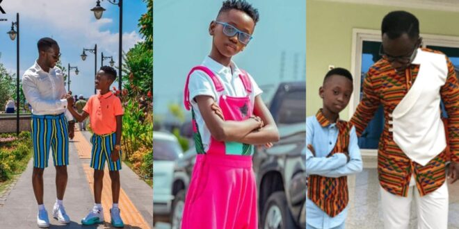 """God please let my son be wiser than me""- Okyeame kwame prays emotionally 1"