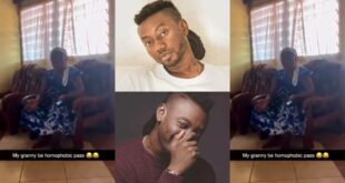 """My Grandson is not g@y""- broken hearted of grand mother pappy Kojo speaks (video) 21"